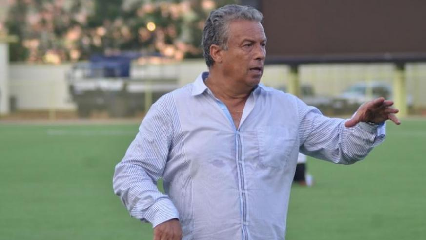 APR coach Nizar Khanfir says he wants to win every game because his team is in a good position. (Sam Ngendahimana)