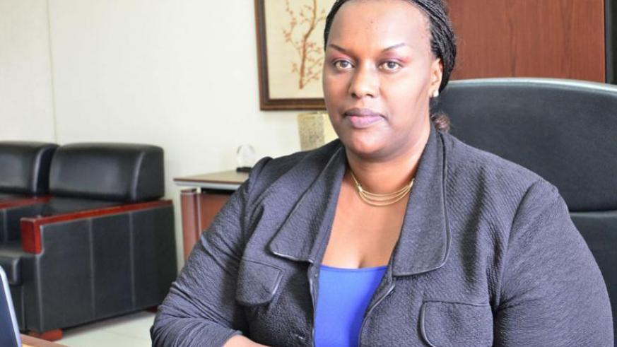 Chantal Kasangwa, BNR's director general for operations