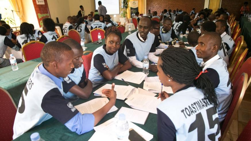 Participants during the workshop in Kigali, yesterday. (Courtesy)