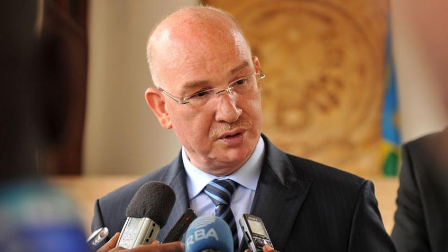 AU Commissioner for Peace and Security, Smail Chergui.