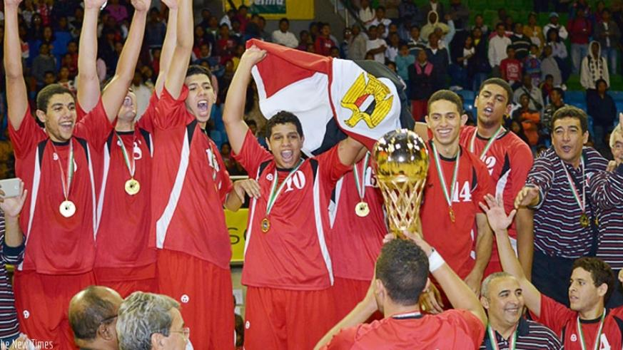 Egypt won of the 2014 FIBA Africa U18 Championship Antananarivo, Madagascar. / Internet photo.