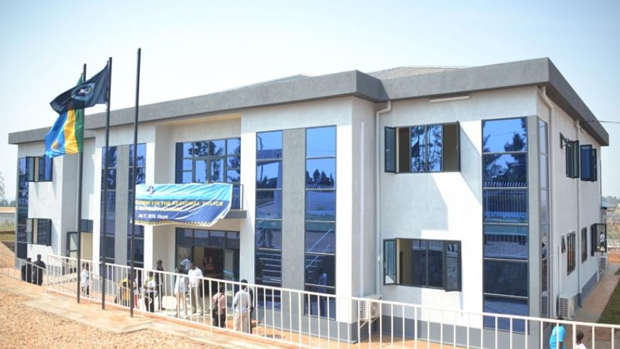 The newly inaugurated Southern region Police headquarters. (Courtesy.)