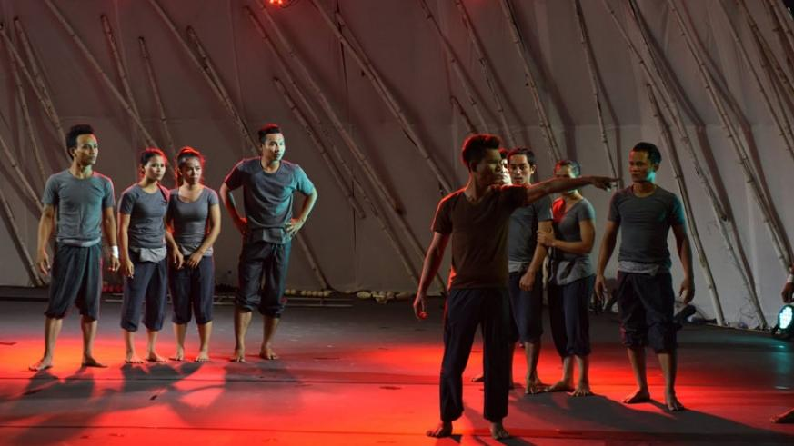 'See You Yesterday' performed by Cambodian actors was one of the stand out performances at this year's Ubumuntu Arts Festival. / Courtesy