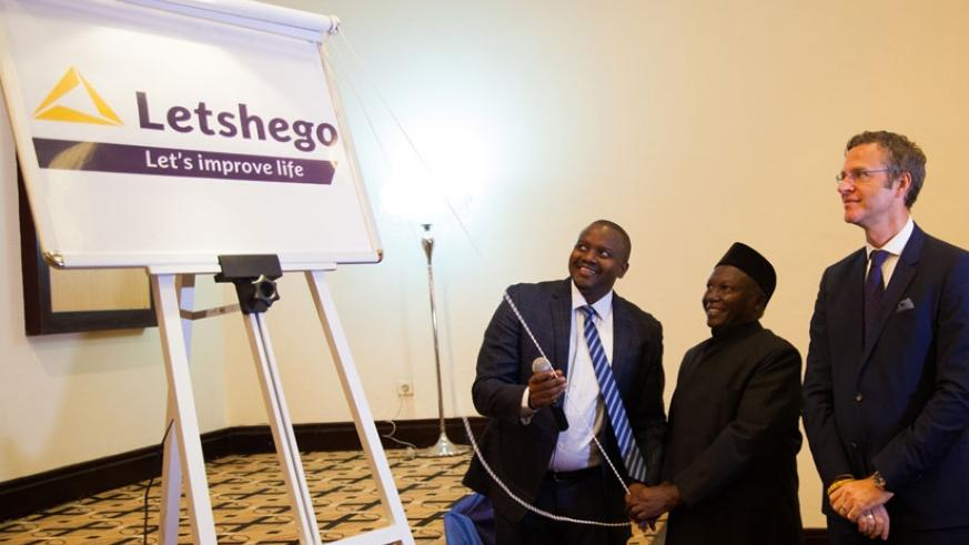 Uwizeye is joined by Kungu Gatabaki, the Letshego Group chairman and independent non-executive director, and Tom Kocsis, the Letshego East Africa head, to unveil the firm's new bra....