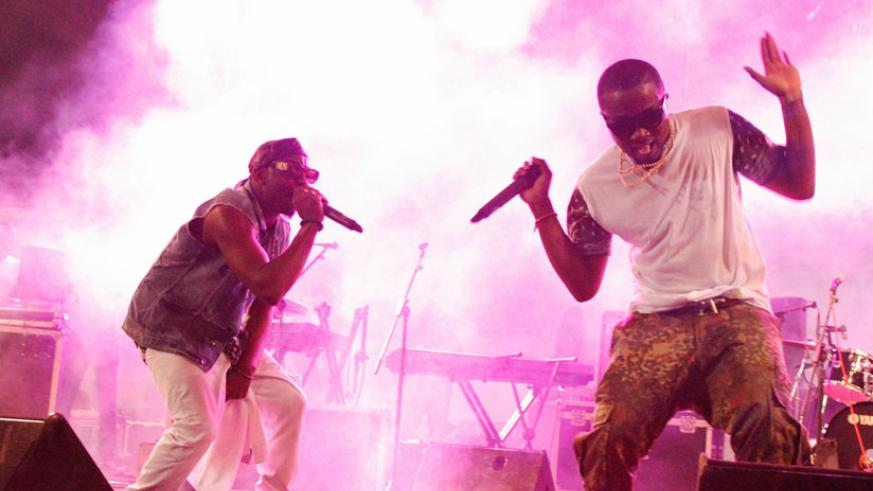 Ice Prince performs at past FESPAD edition. / Internet photo