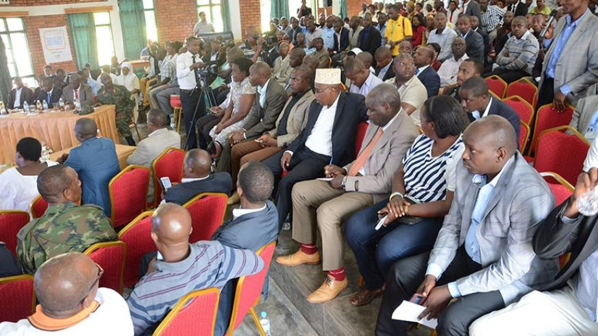 A cross-section of Western Province business community members at the event. / Appolonia Uwanziga.