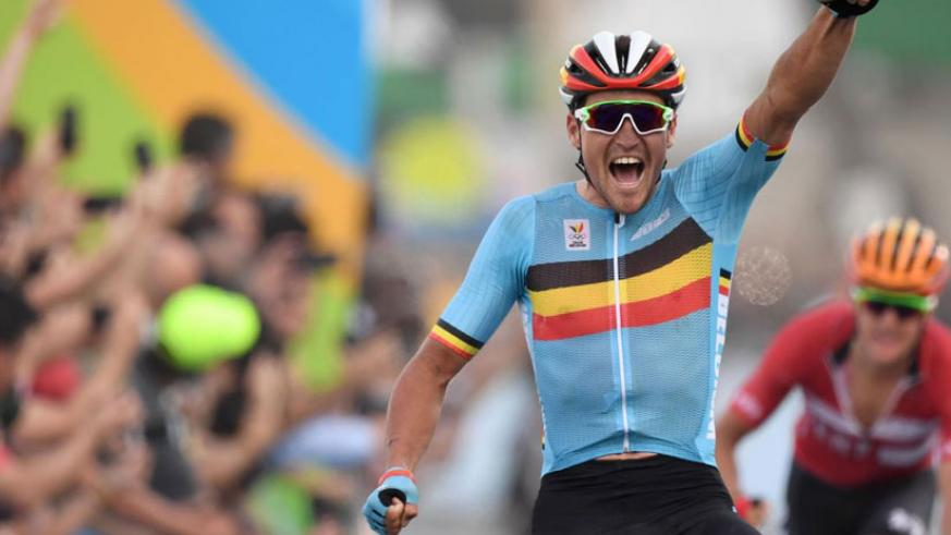 Avermaet wins Rio 2016 Olympics men's road race as Geraint Thomas and favourite Vincenzo Nibali crash out during dramatic final descent. / Internet photo.