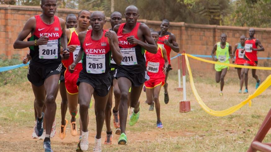 From the beginning, the eventual top three (2014, 2013 and 2011) were in front. / Faustin Niyigena