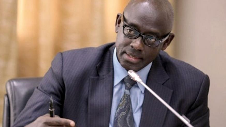 Justice Minister Johnston Busingye has called on government defaulters to pay up or risk consequences. / File