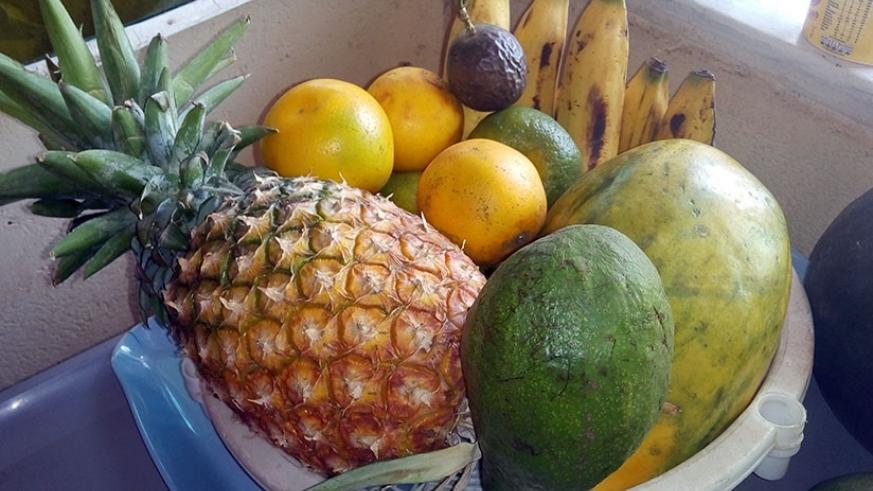A diet rich in fruits and leafy vegetables helps in cleaning the liver. / Lydia Atieno.
