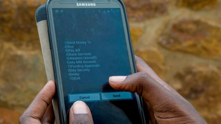 The expansion of mobile money has seen phenominal growth of the services. (File photo)