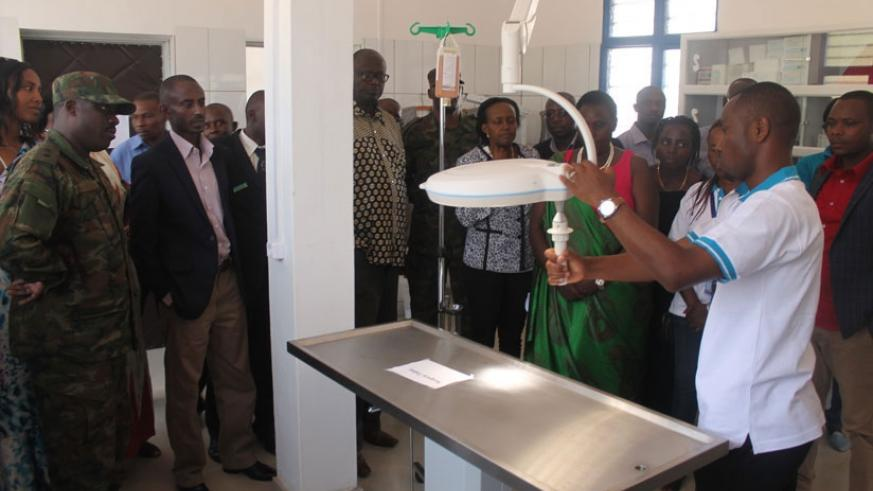 Guests are taken on a guided tour of the state-of-the-art facility in Musanze. (File photo)