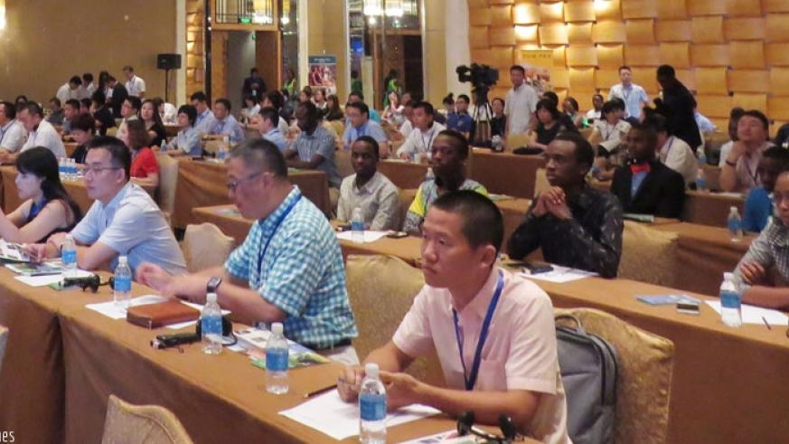 A cross-section of Chinese investors and Rwandans living in China at the forum. (Courtesy photo)