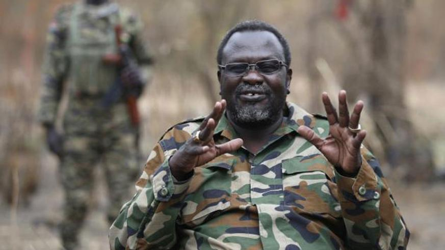 South Sudan's former First Vice President Riek Machar has left the country (Net Photo)