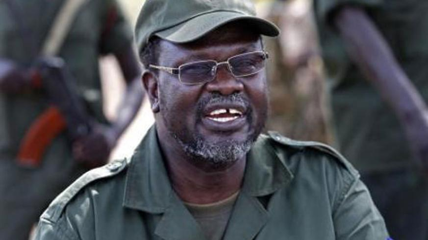 Machar led a two-year rebellion against forces loyal to his longtime rival, President Salva Kiir.