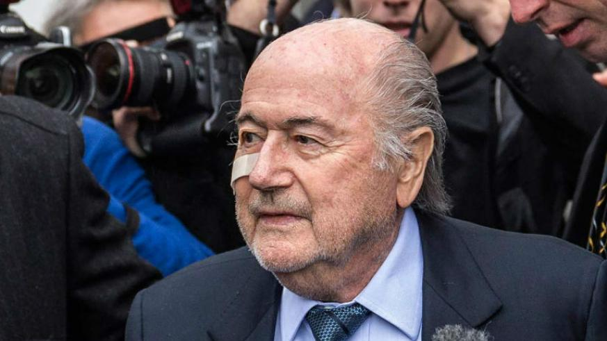 Blatter has strongly denied any wrongdoing relating to a payment to Michel Platini. / Net photo