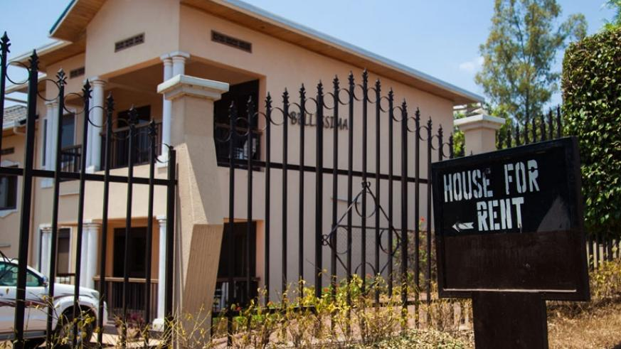 A house for rent in Nyarutarama. Most of the houses in the part of town are on the high end. / Nadege Imbabazi.