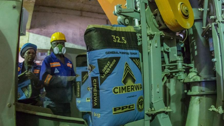 Encouraging consumption of locally-made products like cement can help reduce trade imbalance. (File.)
