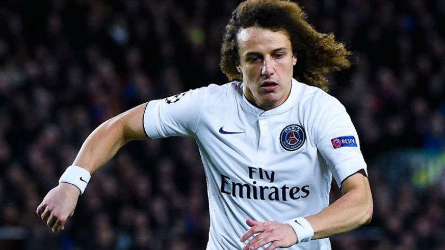 Luiz was sold by Chelsea to French side PSG for a world record fee for a defender when he joined the French club for 50 million pounds in 2014. / Net photo