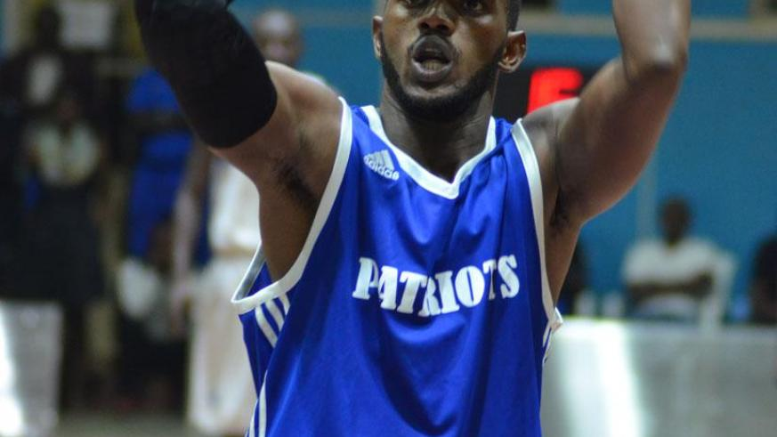 Niyomugabo played for Patriots for one season before crossing to IPRC-South. / Sam Ngendahimana.