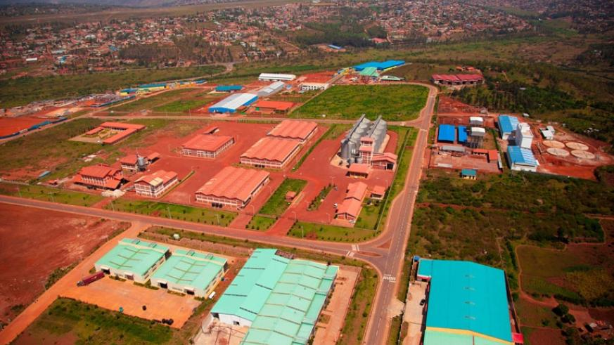 An aerial view of Kigali Special Economic Zone that is one of the incentives put in place for investors seeking to invest in the country. / Timothy Kisambira.
