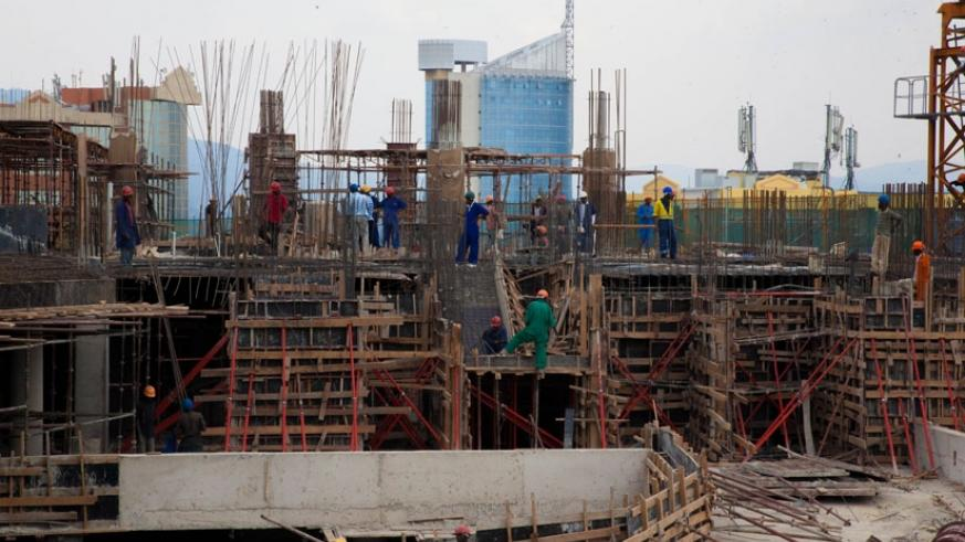 RRA will start mandatory registration for unregistered workers on construction sites. (Kisambira T)