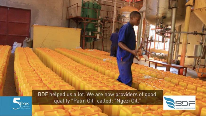We are now providers of quality palm oil called Ngezi oil.