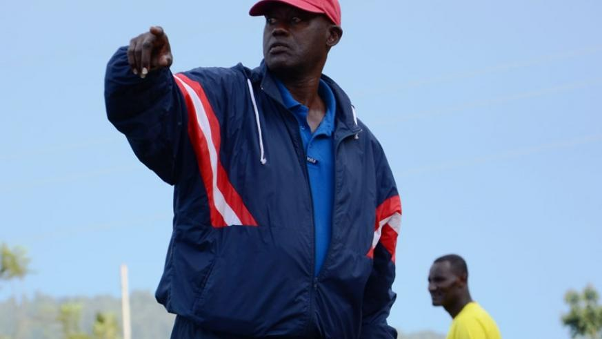 Kanyankore on the touchline during a past game. (File)