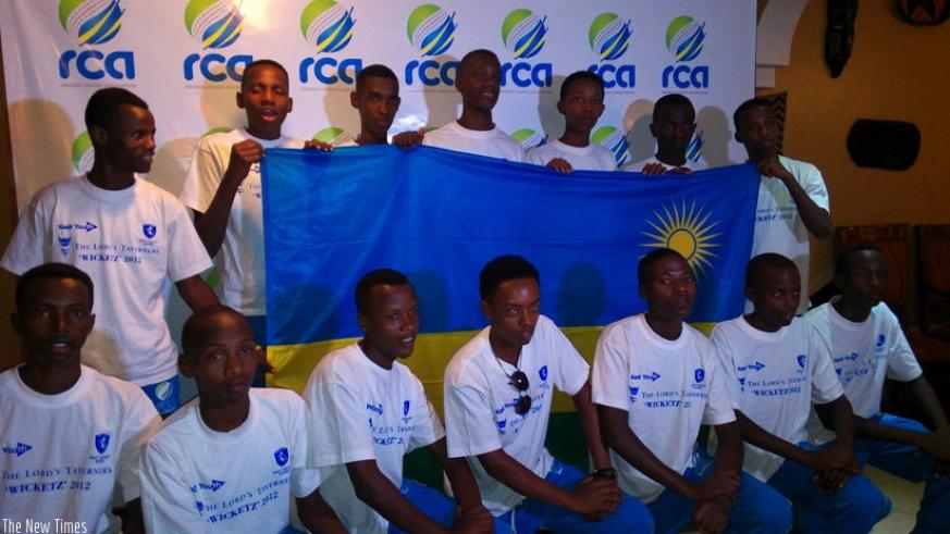Rwanda U-19 Boys national cricket team departed for  South Africa on Wednesday night ahead of the 2016 ICC World Cup qualifiers. (P. Kabeera)