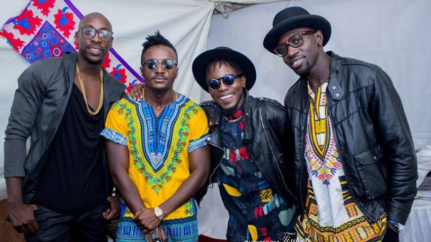 Kenya's Sauti Sol's concert in Kigali promises fireworks this Saturday. / Internet photo