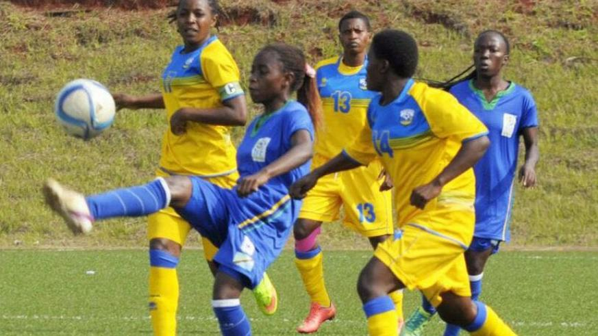 She-Amavubi lost their two group matches, including the opener against Tanzania 2-3 on Monday. (Courtesy)