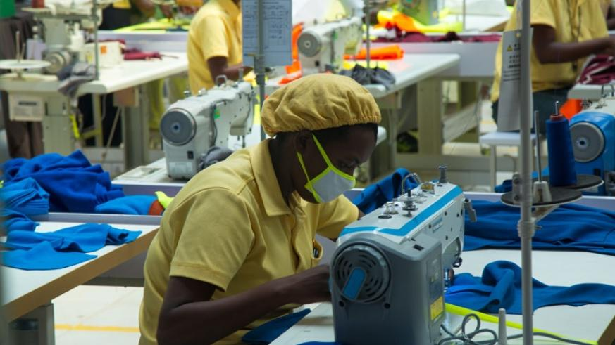 Workers in a textile factory at the special economic zone; access to credit is still a challenge for  many  exporters across the country (File)