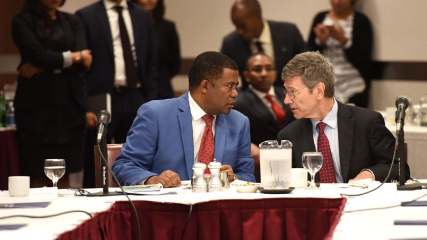 Participants chat during the SDG meeting in New York, US. / Courtesy.