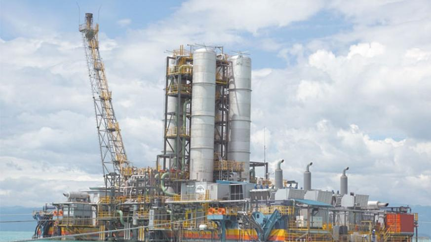 KivuWatt Methane Gas plant in Karongi District. Rwanda will be looking for more investors during the energy summit in November. (File)