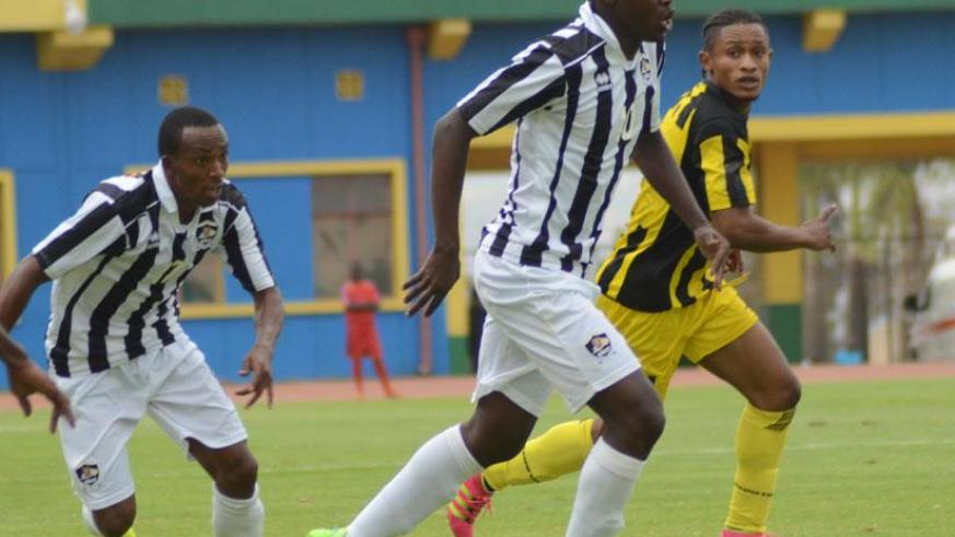 APR players in action. The club is likely to compete in CAF. / Sam Ngendahimana