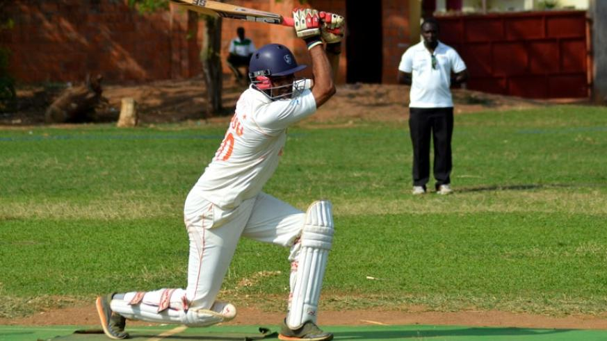 Telugu Royals  captain Ramu Morampudt scored 14 runs and took one wicket as his team won their first trophy on Sunday. (S. Ngendahimana)