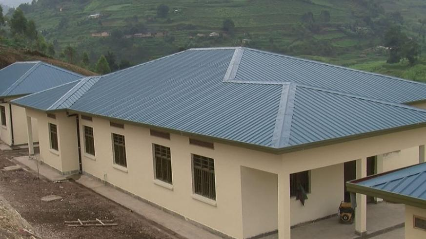 Health Center constructed in Gicumbi district