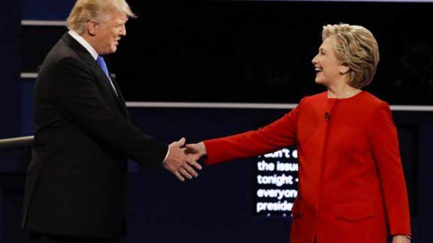 Hillary Clinton and Donald Trump tangled in an intense series of exchanges tonight during the first presidential debate of 2016.
