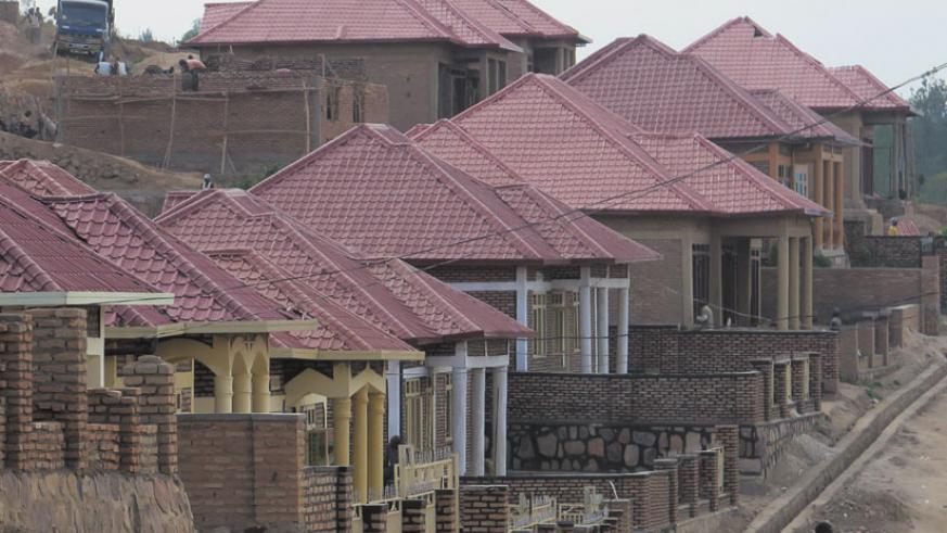 With the new housing project, city dwellers in informal settlements will be able to live in decent homes. / File