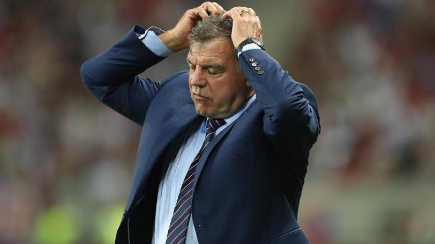 Sam Allardyce sacked as England manager after one match in charge. / Net photo