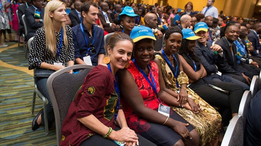 Some of the participants of the Rwanda Cultural Day event in San Francisco on Saturday. (File)