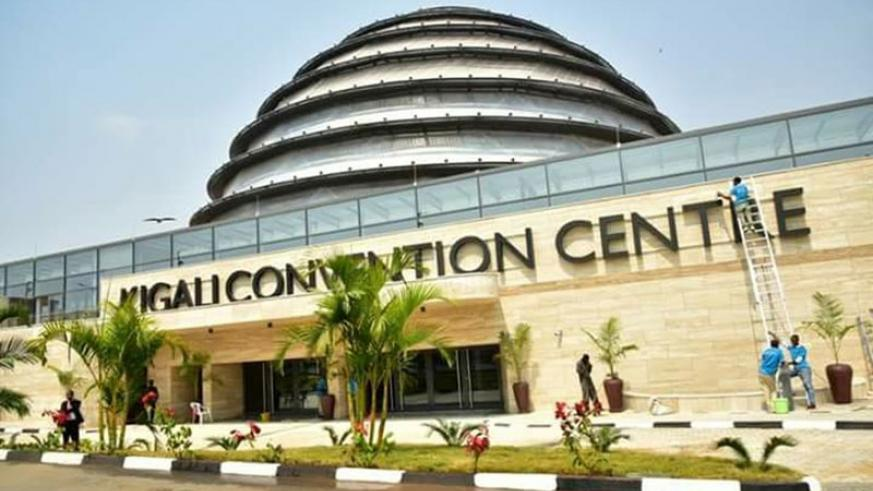 The continental hotel conference will be hosted at the Kigali Convention Centre. (File.)