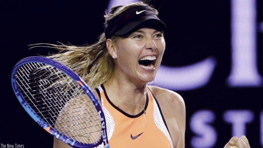 The Russian tennis star can come back in April and return to Grand Slam play at the French Open. (Net Photo)