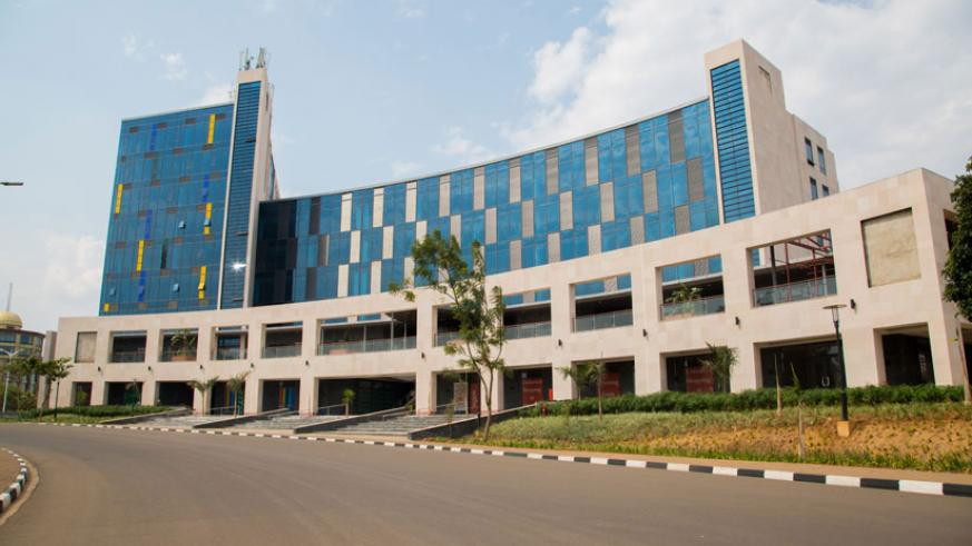 The magnificent Kigali Heights Complex located in Kacyiru opposite Kigali Convention Centre. / File