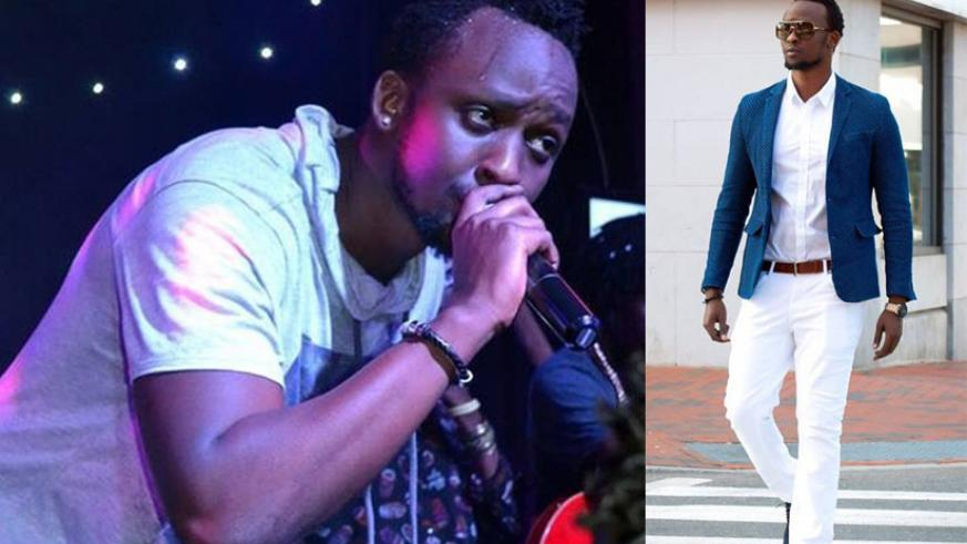 LEFT: Meddy performs at a previous concert. | RIGHT: The 'Holy Spirit' star has been nominated for the MTV Africa Music Awards. / Courtesy
