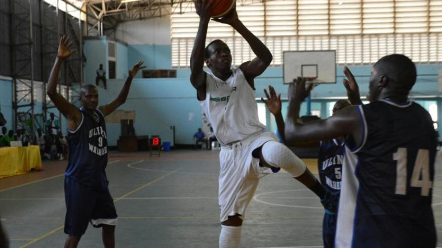 Espor squandered the chance to advance to semi-finals on Monday after losing their second game against Kenya's Ulinzi. (G. Asiimwe)
