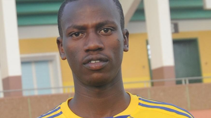 Left attack Fred Mutabazi is one of UTB's new signings as the club prepares for their league debut next season. (File photo)
