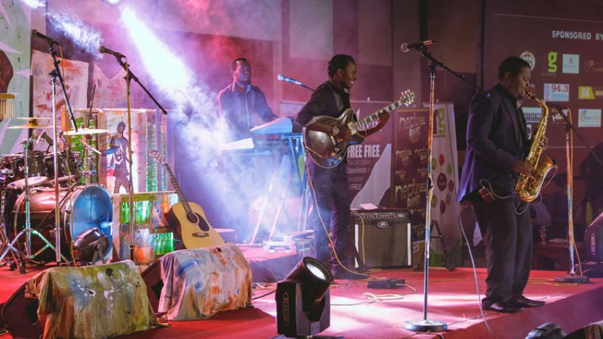 Neptunez Band perform at a past Kigali Jazz Junction. / Courtesy.