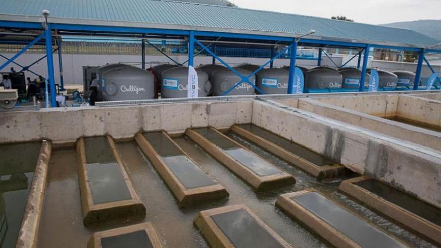 Nzove 2 Water Treatment Plant was launched recently. / Courtesy photos.