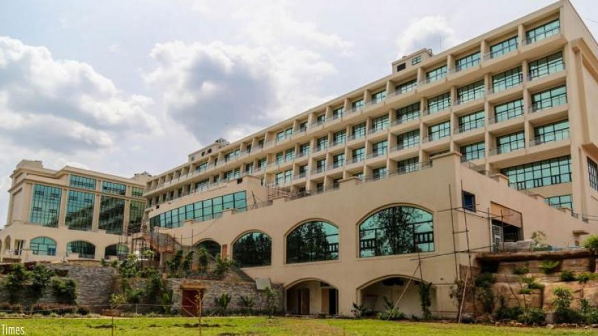 Kigali Marriott Hotel that officially opened doors last week. Marriott is one of the largest global hotel brands that have opened shop in Rwanda in recent days. / File